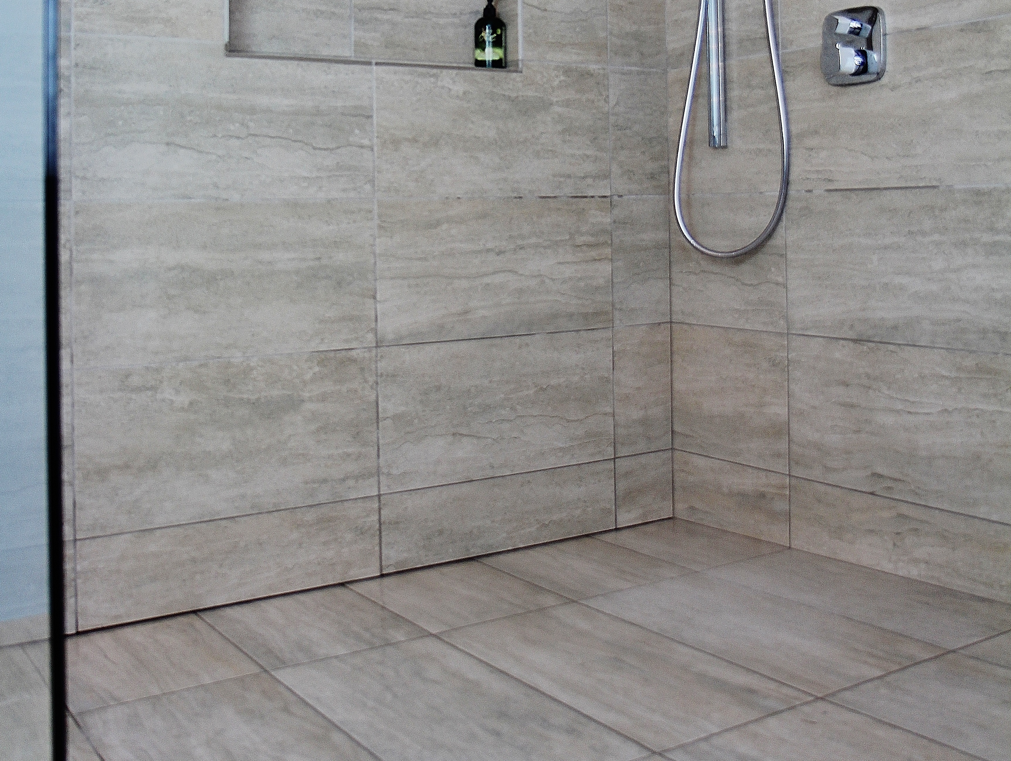 hidden shower. Black Bedroom Furniture Sets. Home Design Ideas